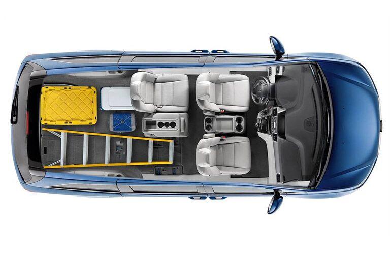 2016 Honda Pilot vs 2016 Honda Odyssey standard features
