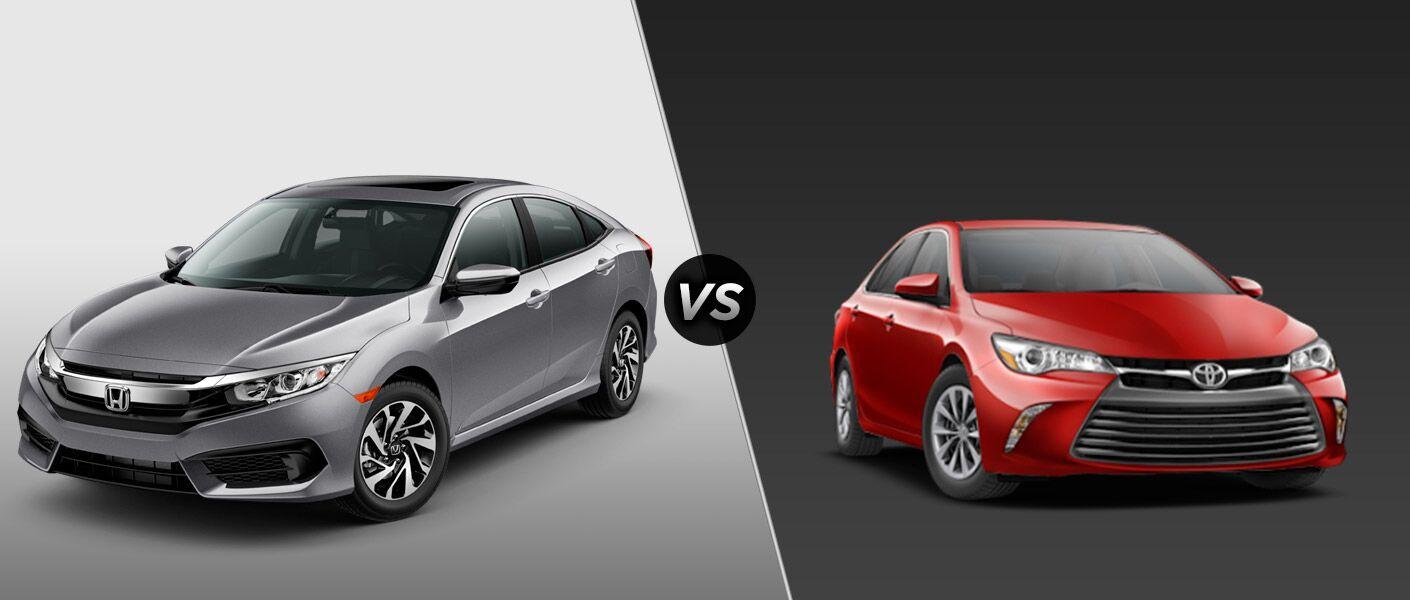 2016 Honda Civic vs 2016 Toyota Corolla