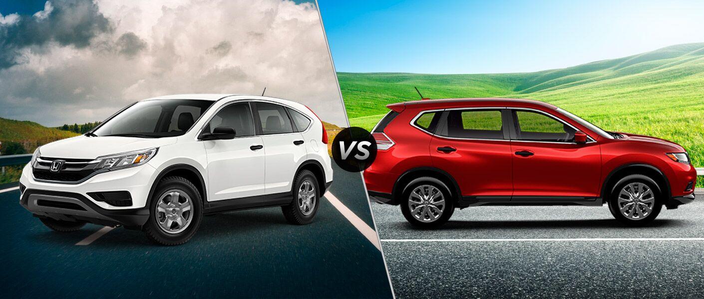 2016 Honda CR-V vs 2016 Nissan Rogue