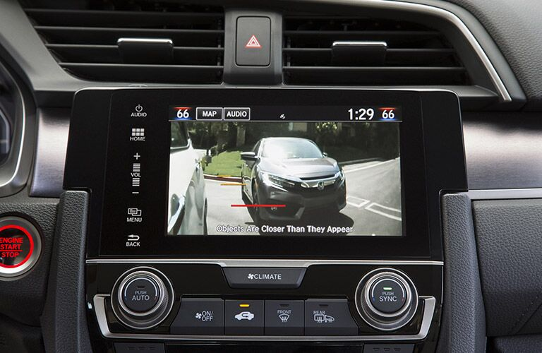 Rearview Camera in the 2017 Honda Civic