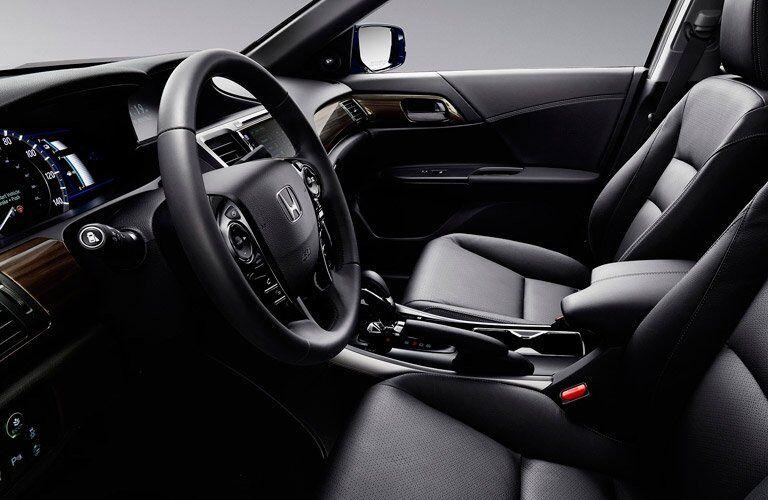 2017 Honda Accord Hybrid passenger space