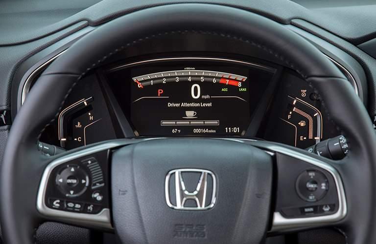 2017 Honda CR-V driver assistance features