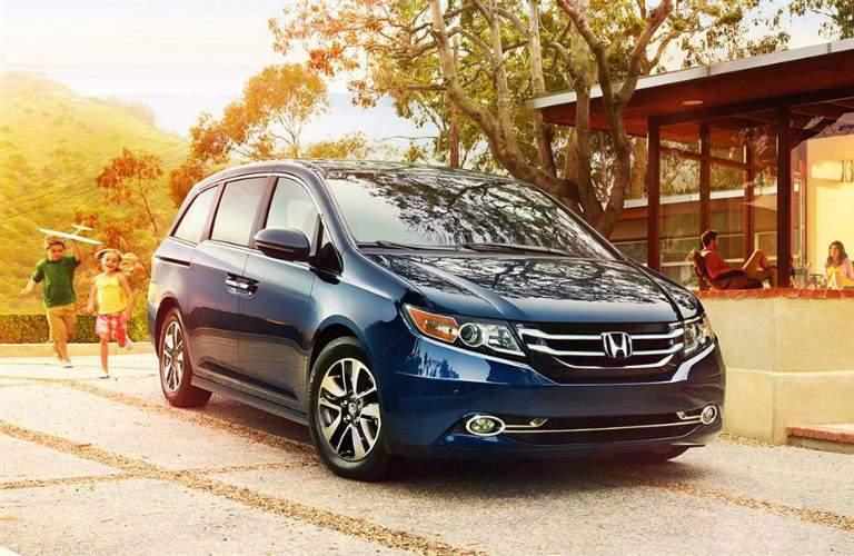 2017 Honda Odyssey standard features