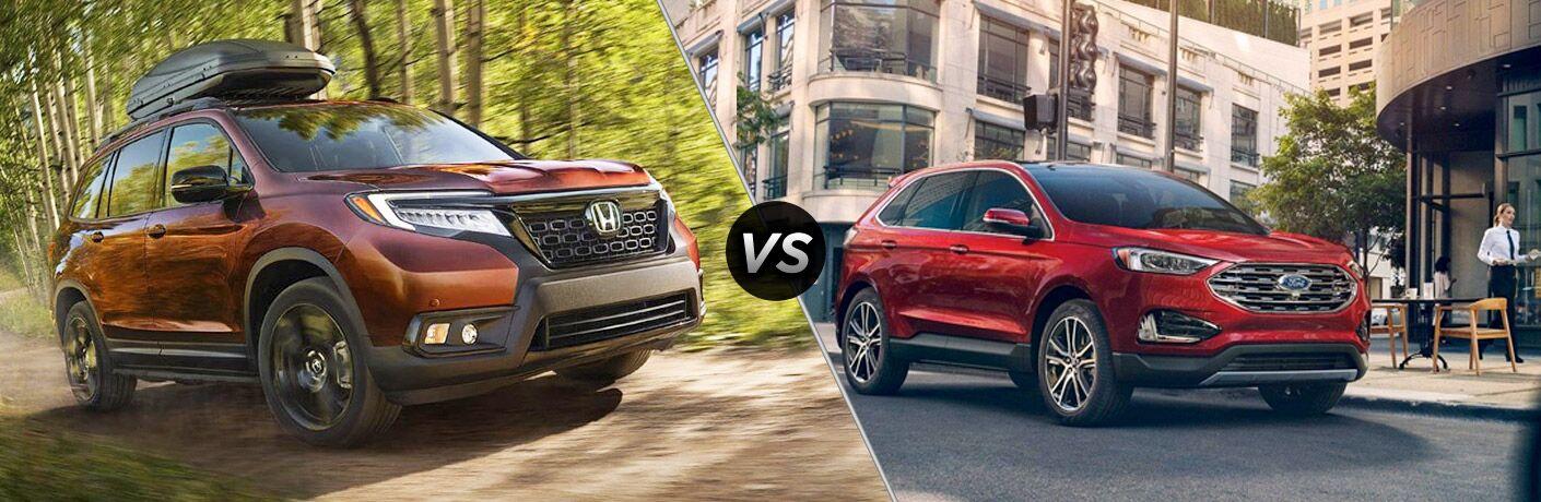 2019 Honda Passport vs 2019 Ford Edge