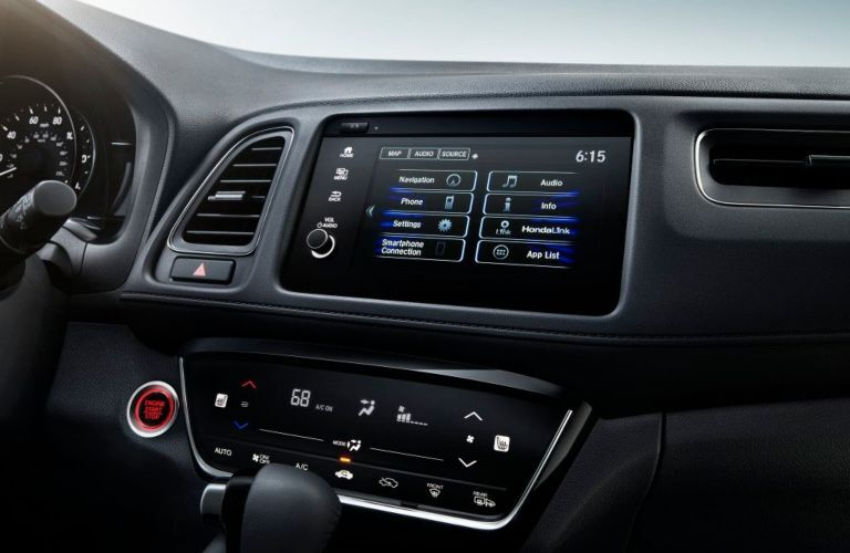 2020 Honda HR-V dashboard