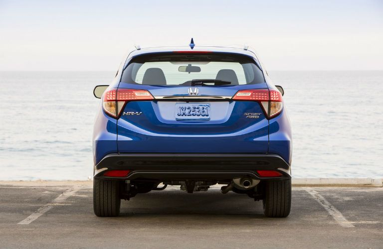 2021 Honda HR-V from behind