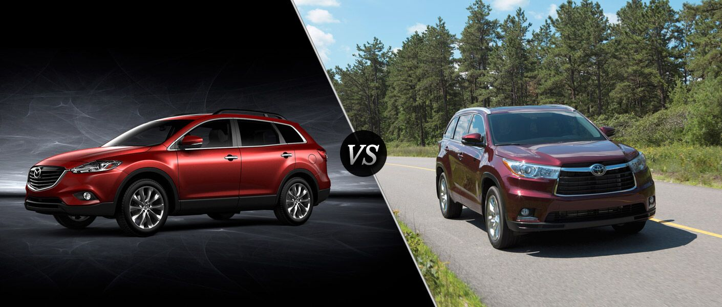 home 2015 mazda cx 9 vs 2015 toyota highlander. Black Bedroom Furniture Sets. Home Design Ideas