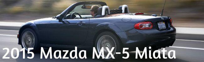 2015 Mazda Miata information