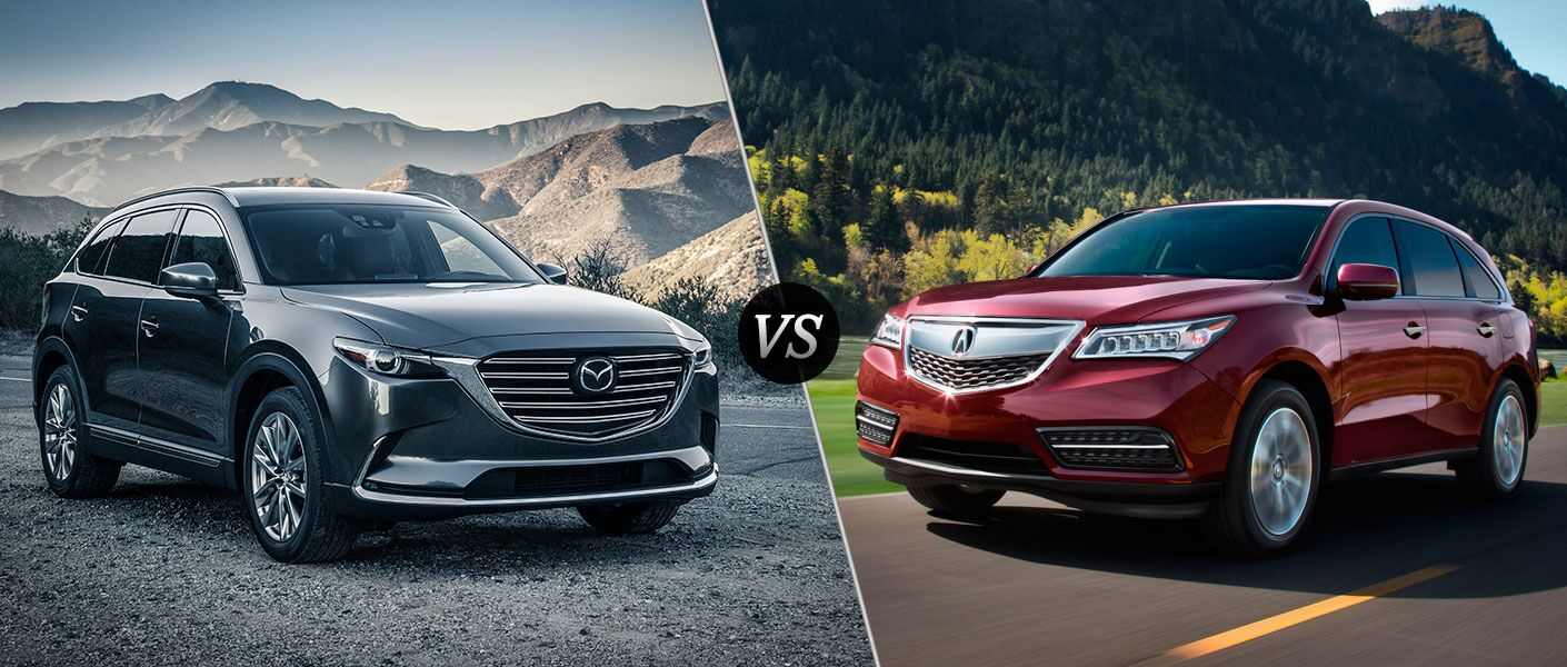 2016 Mazda CX-9 vs 2016 Acura MDX