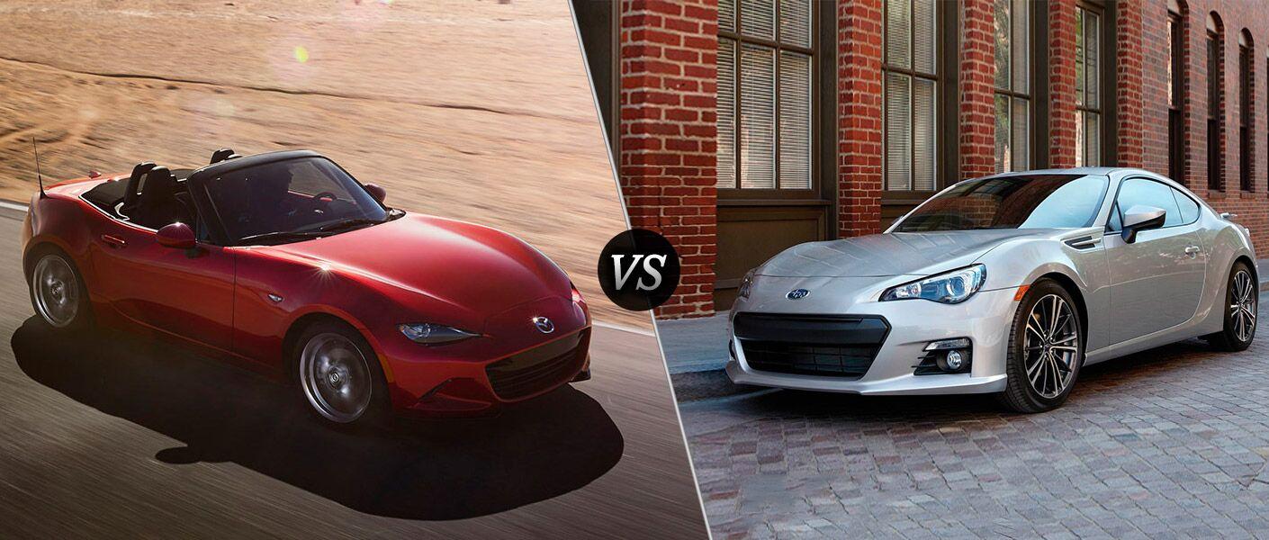 2016 Mazda Miata vs 2016 Subaru BRZ