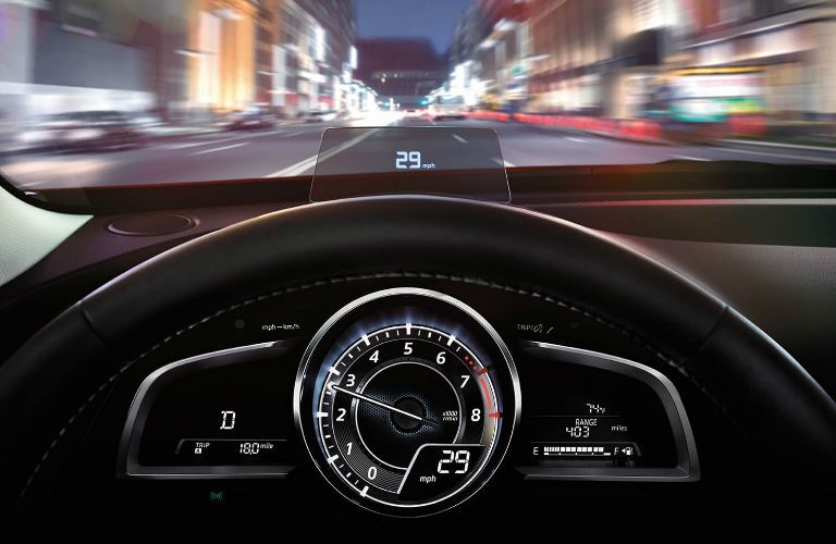 2017 Mazda CX-3 head up display