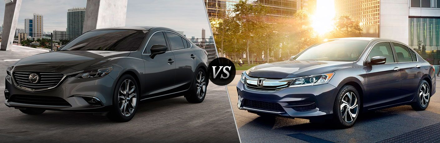 2017 Mazda6 vs 2017 Honda Accord