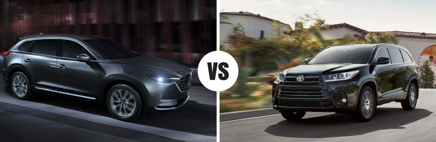2018 Mazda CX-9 vs 2018 Toyota Highlander