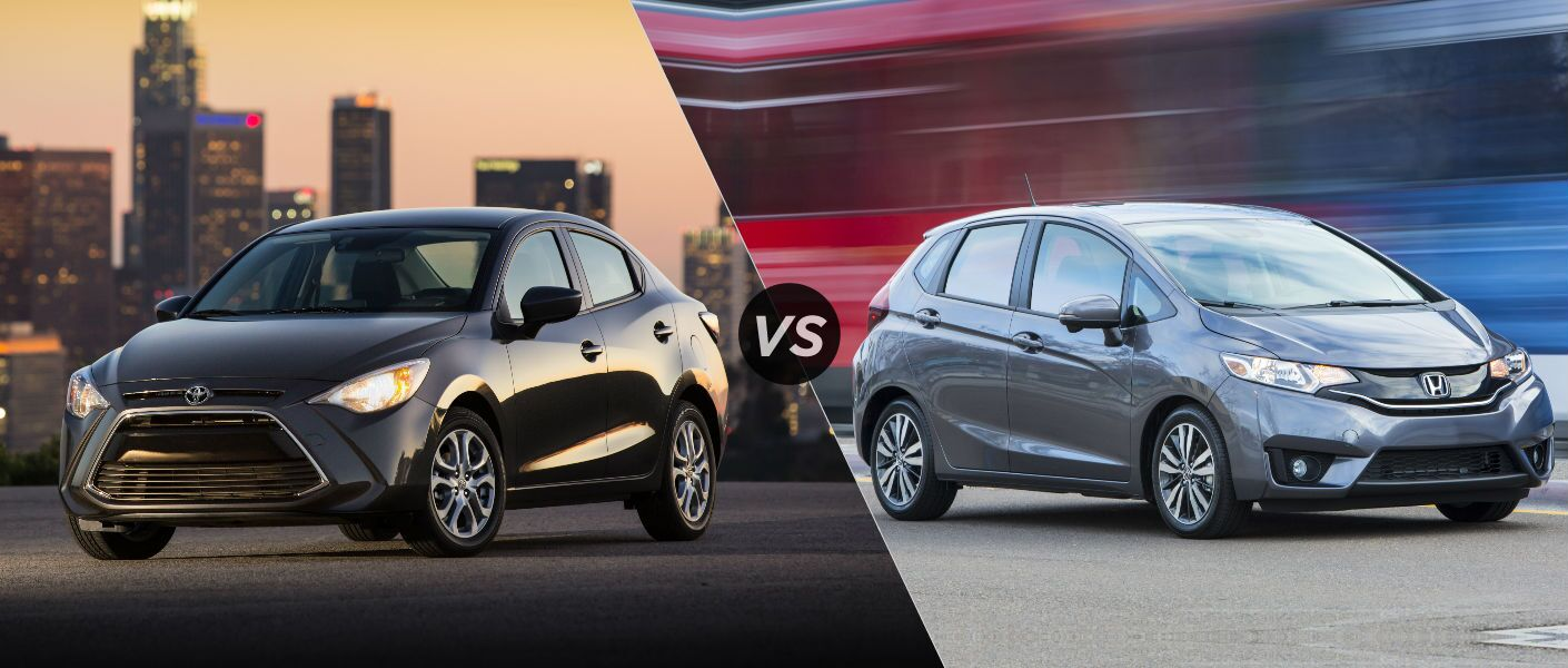 2016 Toyota Yaris compared to the 2016 Honda Fit Truro NS