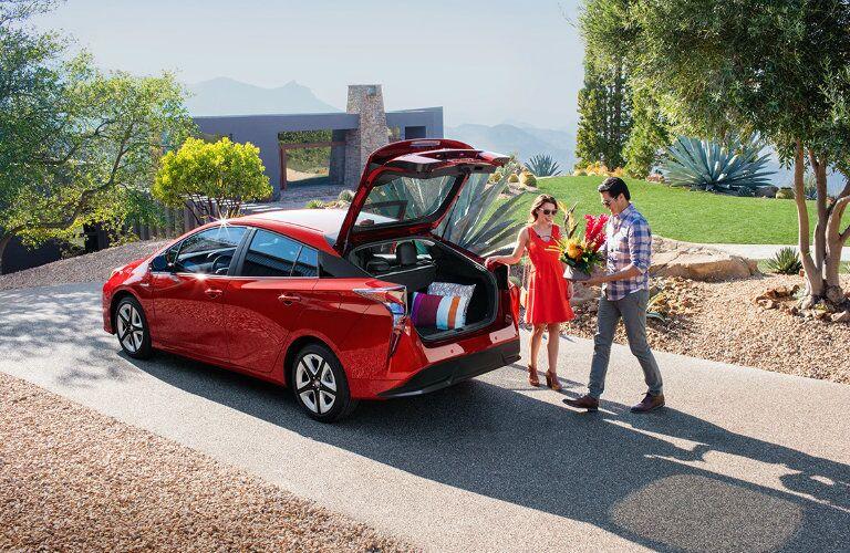 2016 Toyota Prius cargo capacity