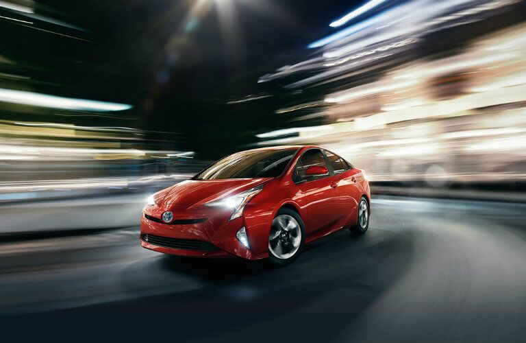 2016 Toyota Prius headlights