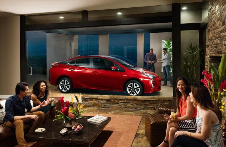 2016 Toyota Prius new exterior design