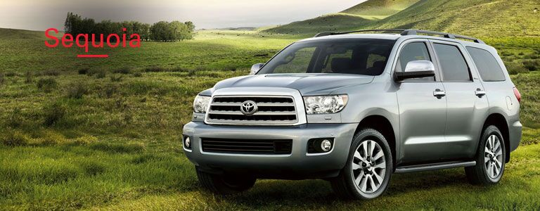 2016 Toyota sequoia model information