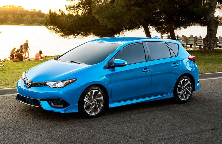 2017 Toyota Corolla iM Exterior View in Blue Side View