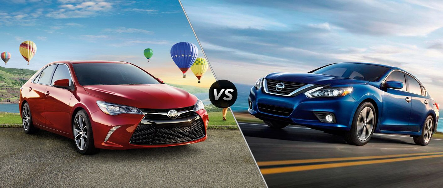 2017 Toyota Camry vs. 2017 Nissan Altima
