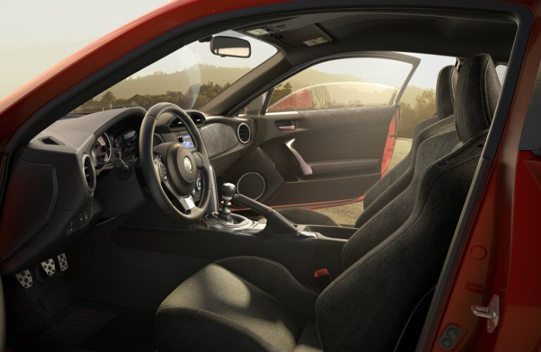 Interior of the 2017 Toyota 86