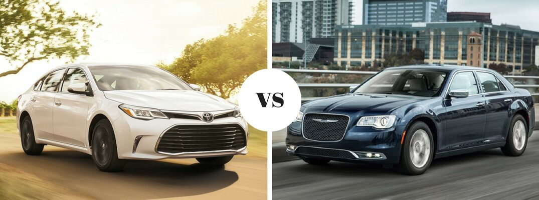 2017 Toyota Avalon vs 2017 Chrysler 300