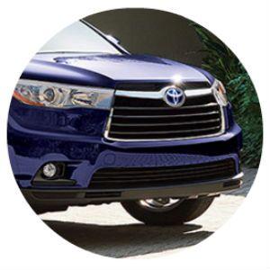 2016 Toyota Highlander Hybrid grille design
