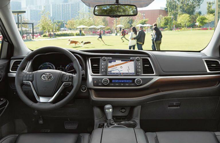 2016 Toyota Highlander hybrid navigation system
