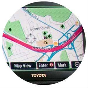 toyota navigation system