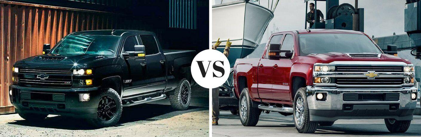2017 Chevy Silverado 2500HD vs 2017 Chevy Silverado 3500HD