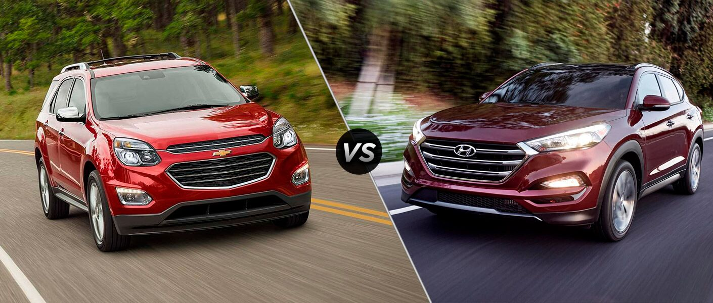 2016 Chevy Equinox vs 2016 Hyundai Tucson Second Image