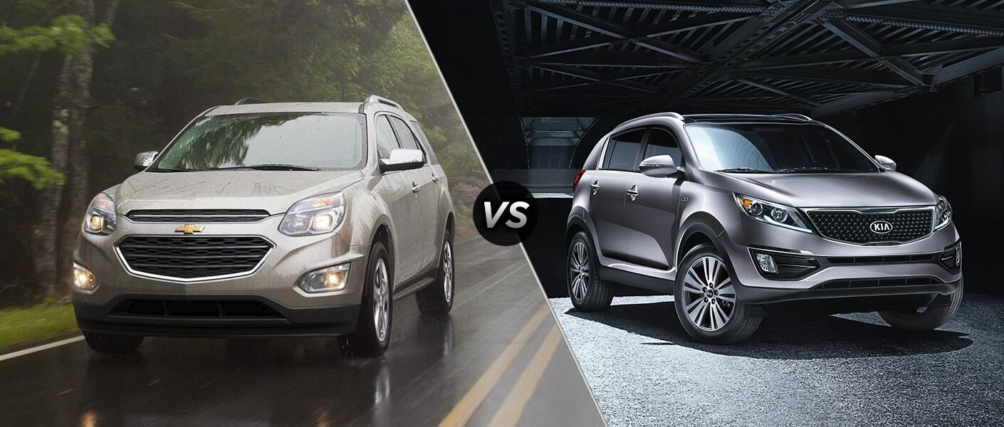 2016 Chevy Equinox vs 2016 Kia Sportage