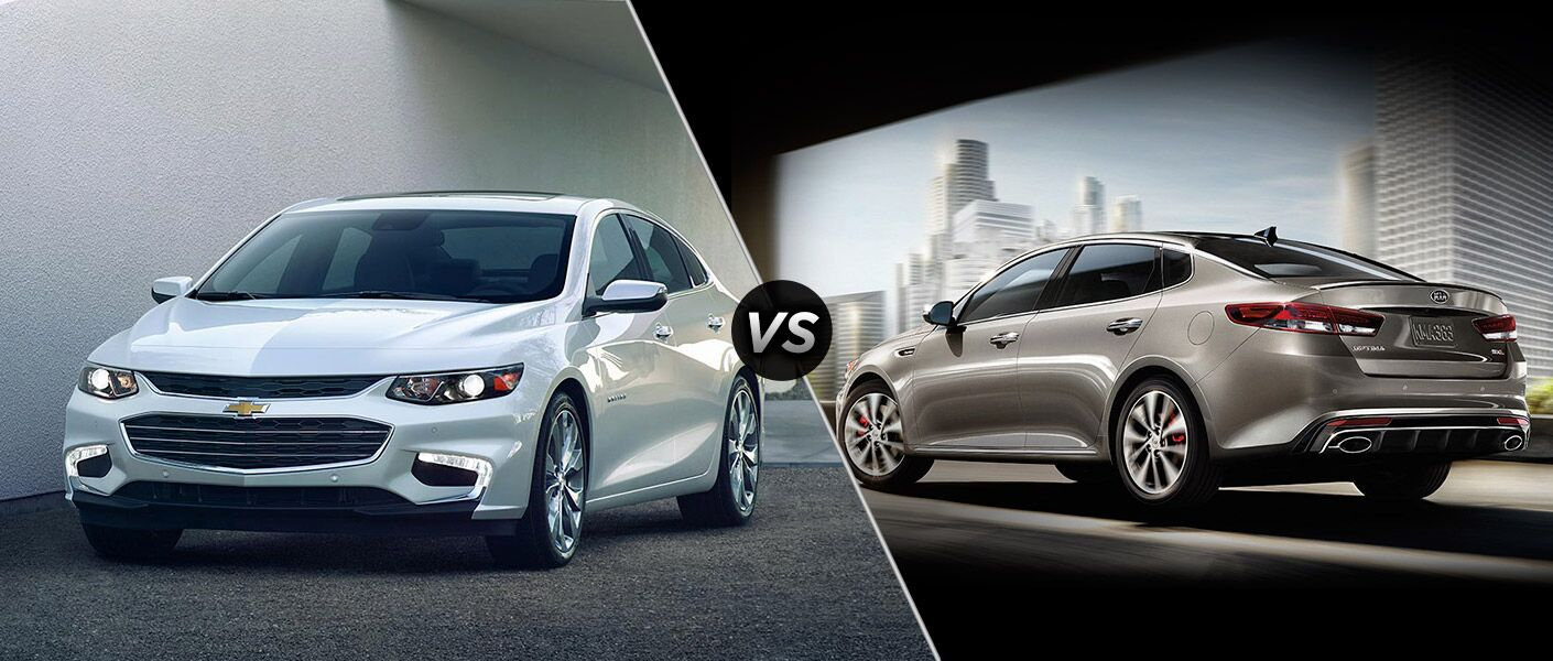 2016 Chevy Malibu vs 2016 Kia Optima