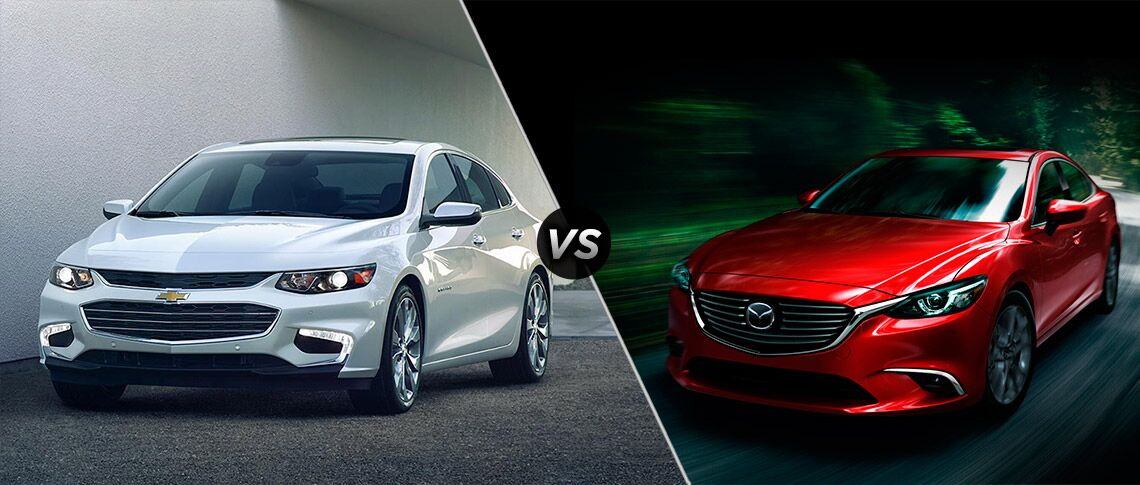 2016 Chevy Malibu vs 2016 Mazda 6