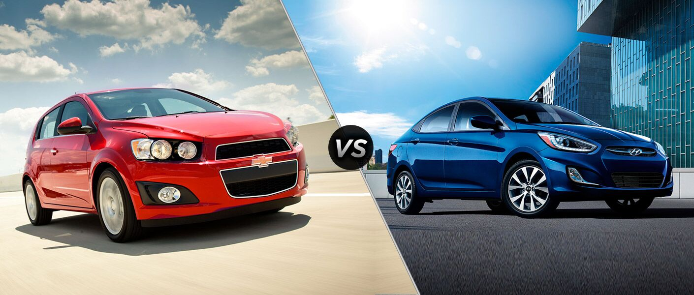 2016 Chevy Sonic vs 2016 Hyundai Accent