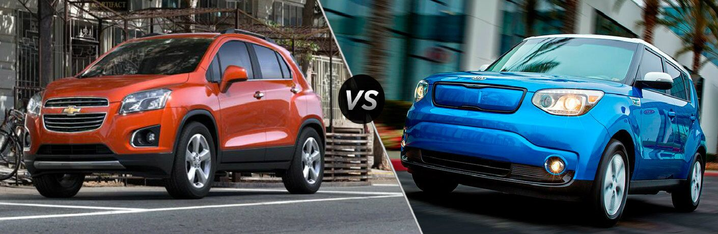 2016 Chevy Trax vs 2016 Kia Soul