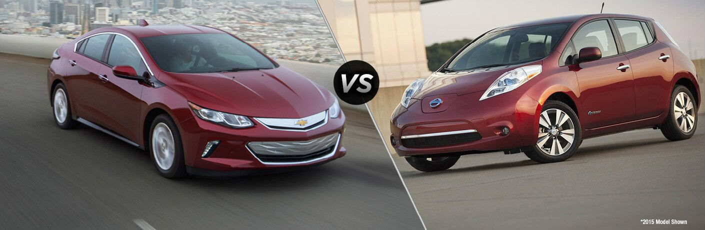 2016 Chevy Volt vs 2016 Nissan Leaf