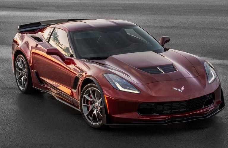 red 2016 corvette stingray z51