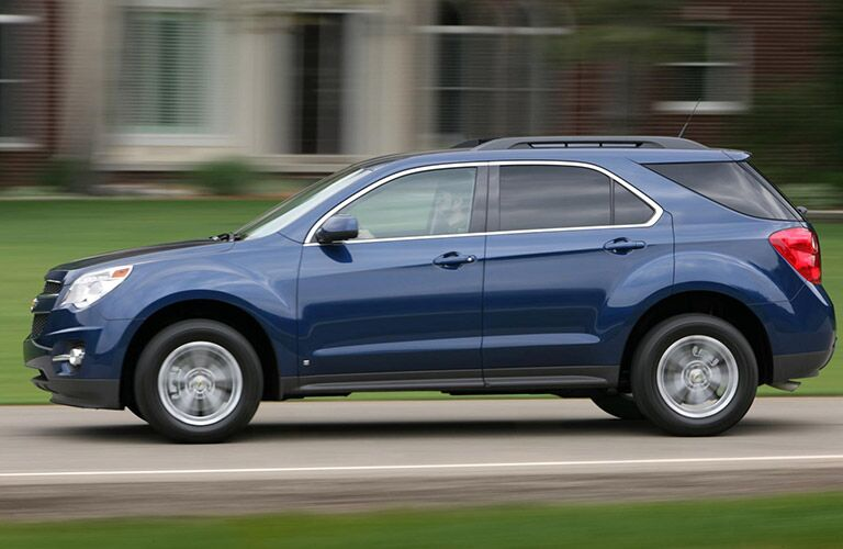 2016 Chevy Equinox Blue Side