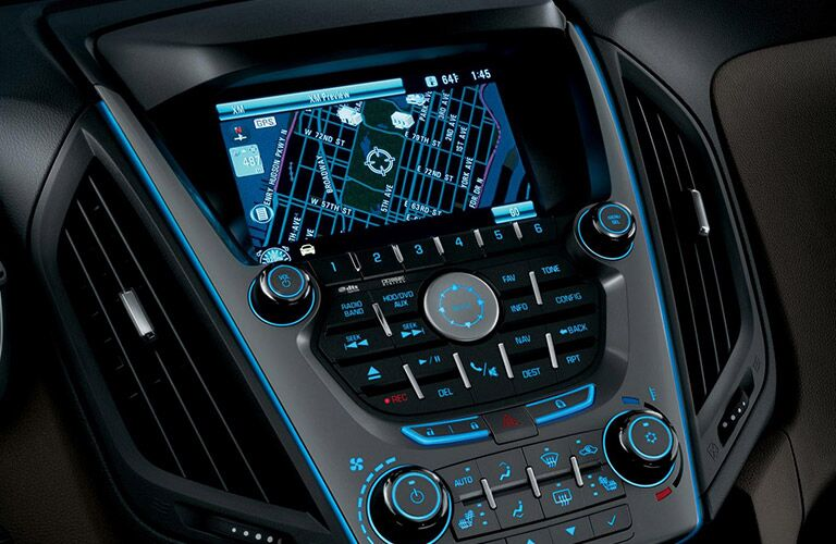 2016 Chevy Equinox with navigation