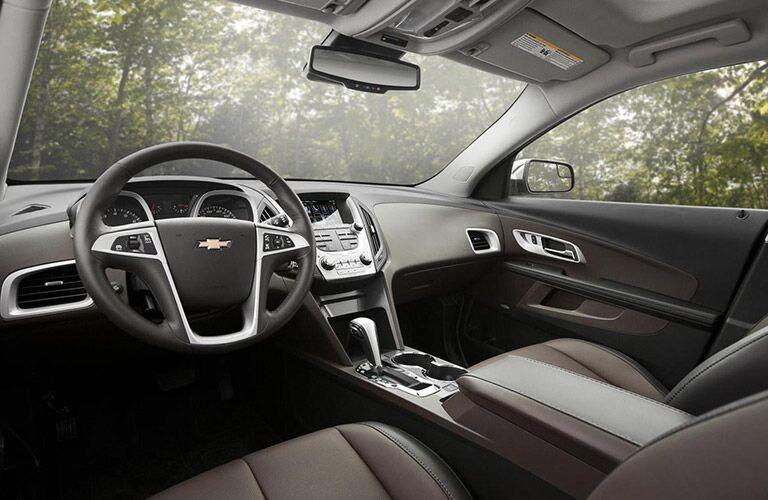2016 Chevy Equinox black interior