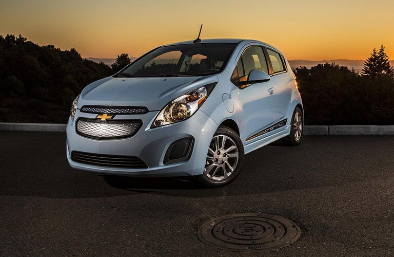 2016 Chevy Spark Blue