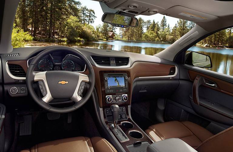 2016 Chevy Traverse Navigation