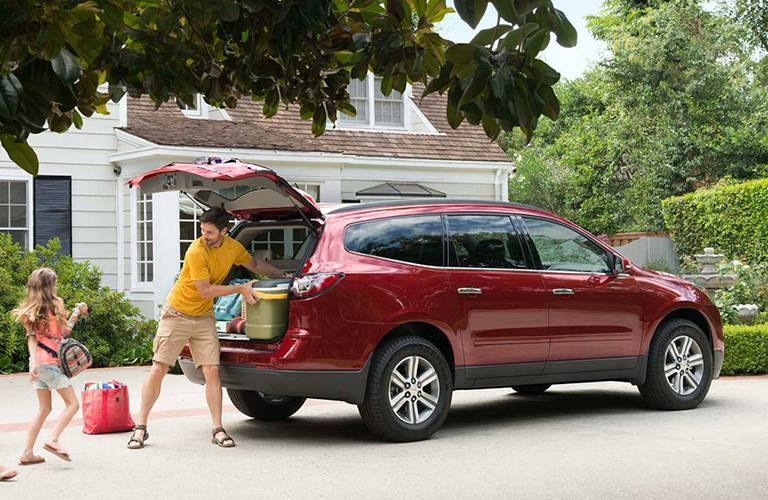 2016 Chevy Traverse Family Cargo