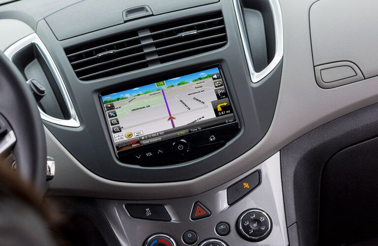2016 Chevy Trax with navigation price