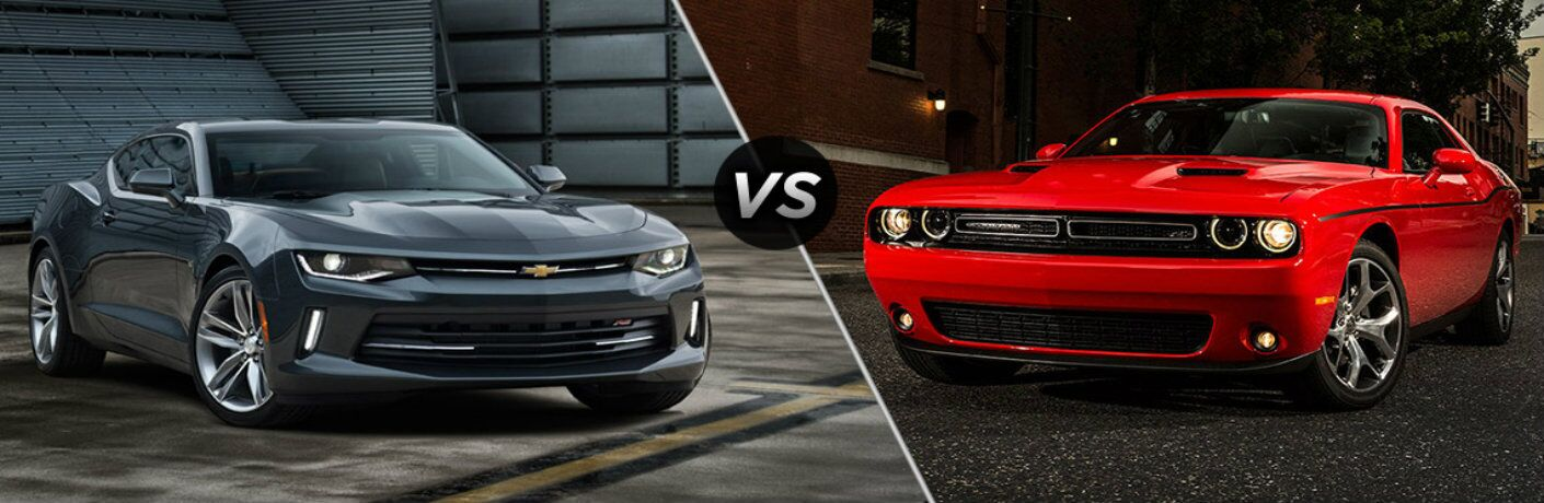 2016 Chevy Camaro vs 2016 Dodge Challenger