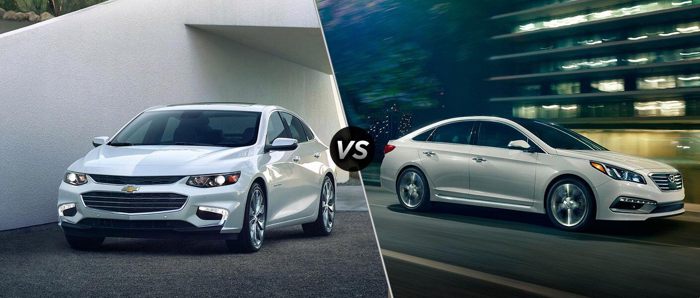 2016 Chevy Malibu vs 2016 Hyundai Sonata