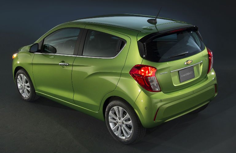 2016 Chevy Spark Rear View