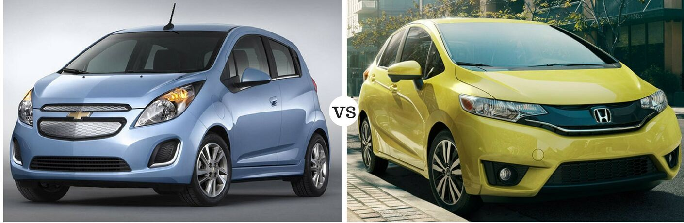 2016 Chevy Spark vs 2016 Honda Fit