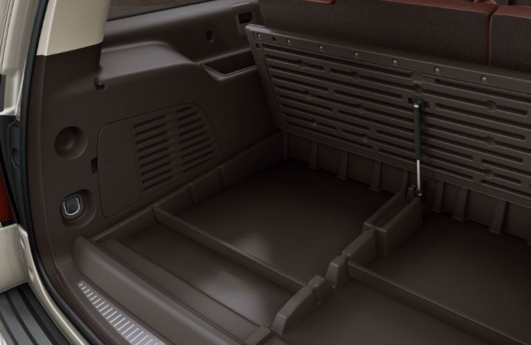 2016 Chevy Suburban under-cargo safety storage